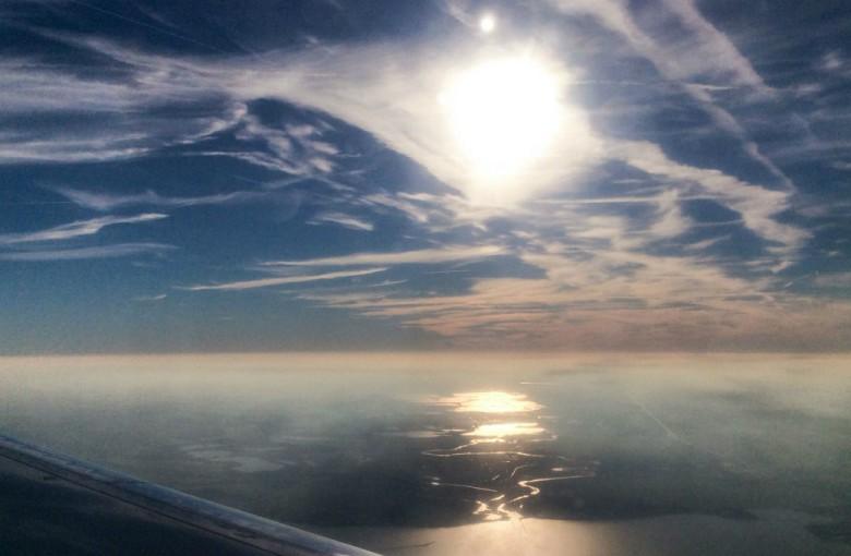 Himmel über den Wolken