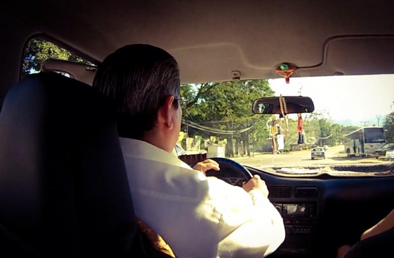 Taxifahrt in Cancun