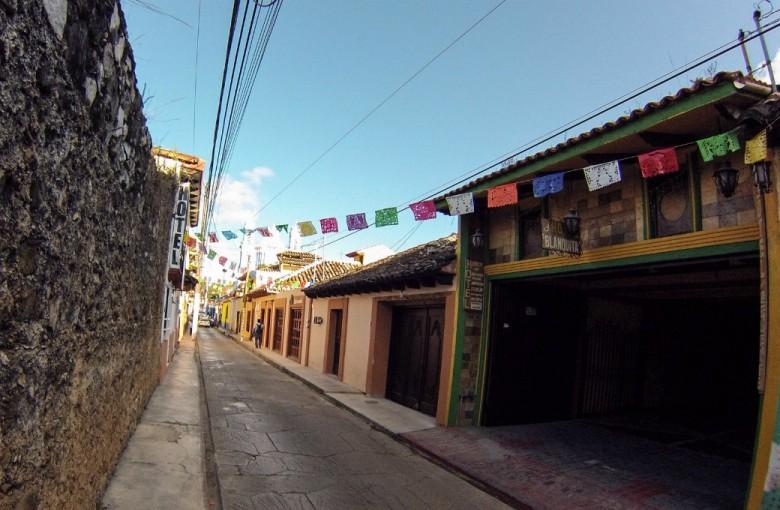 Straße in San Christobal