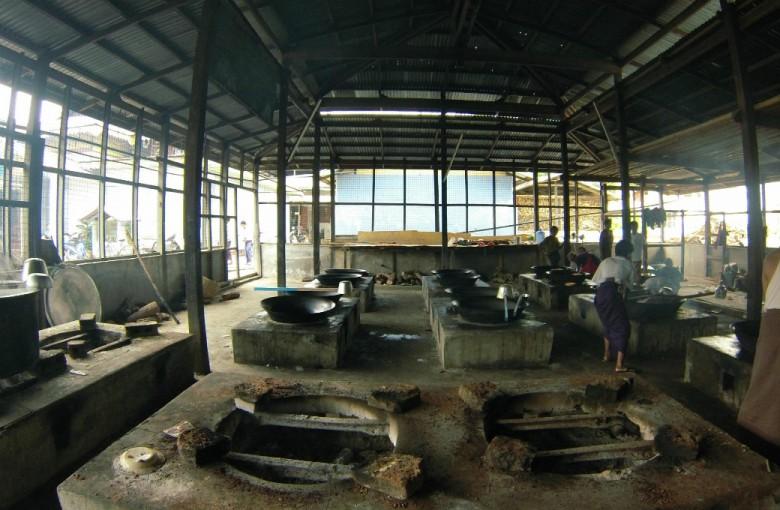 Garküche in Myanmar